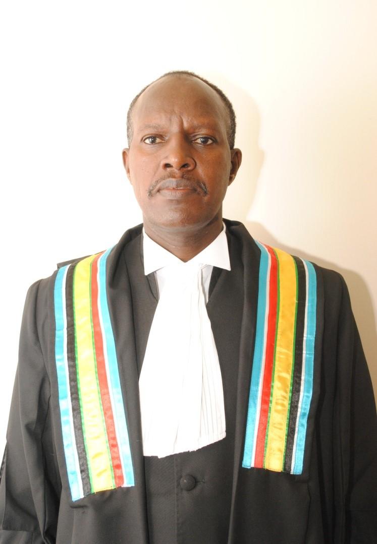 Hon. Mr. Justice Audace Ngiye