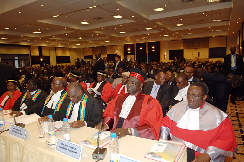 Swearing in of New Judges