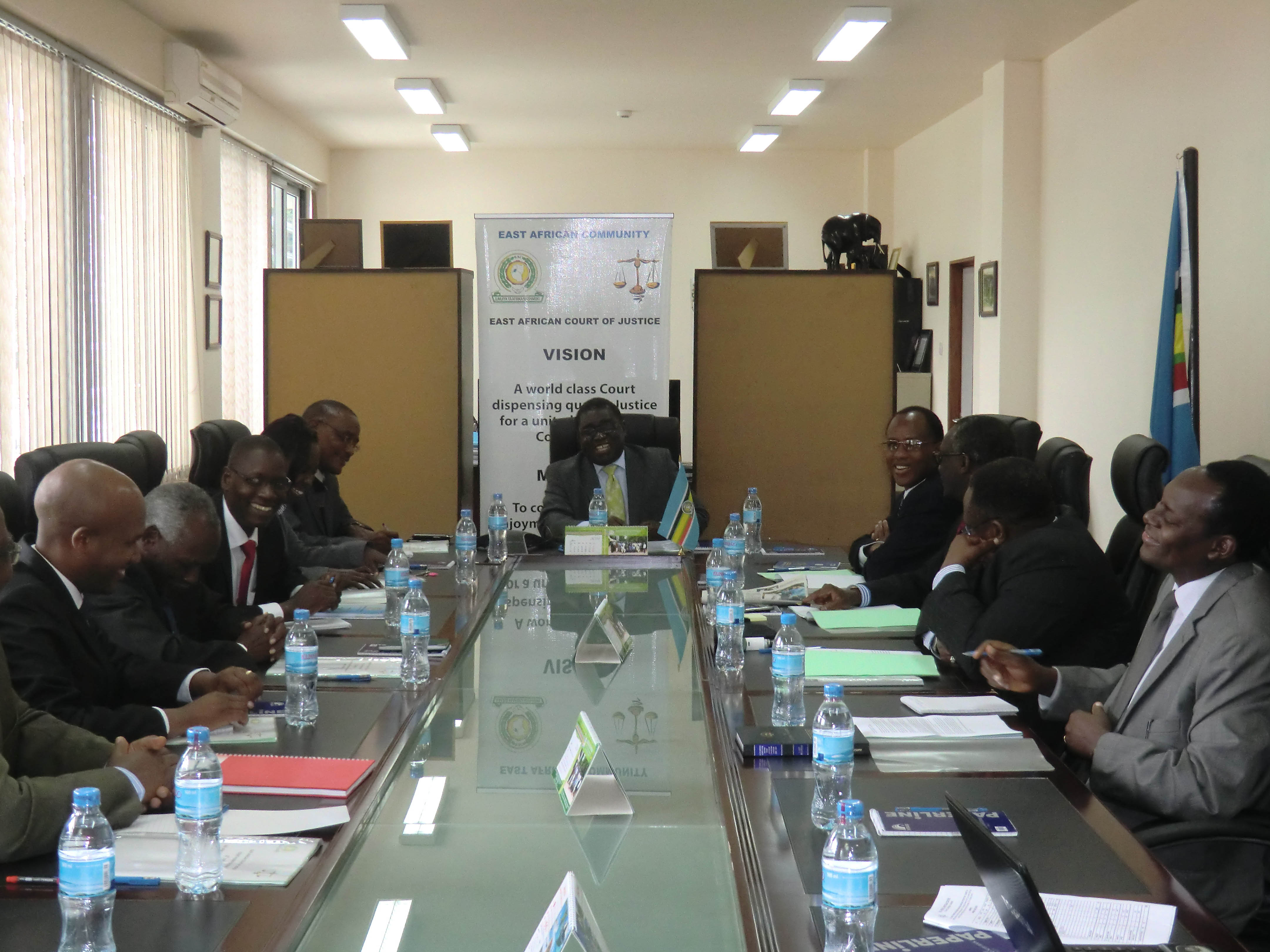 EACJ Plenary Session 2014 Held at HQ