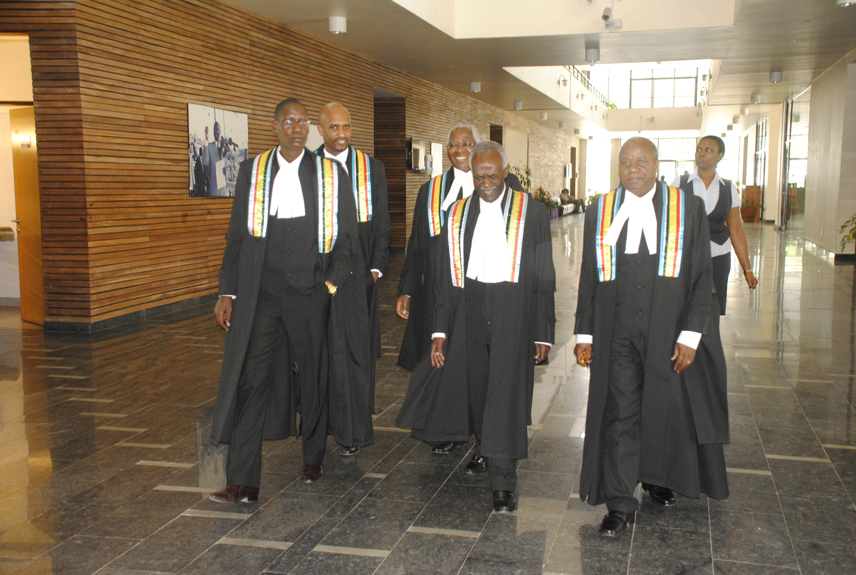 Appellate Division August Seating Constituting of New Judges