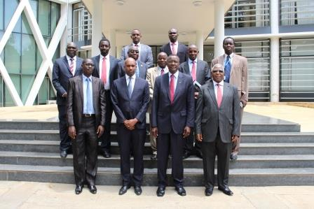 Chief Justice of the Republic of Kenya benchmarks EACJ case management system