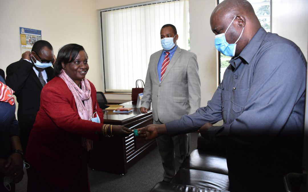 EACJ OFFERS AN OFFICE TO EAST AFRICAN MAGISTRATES' & JUDGES' ASSOCIATION IN ARUSHA