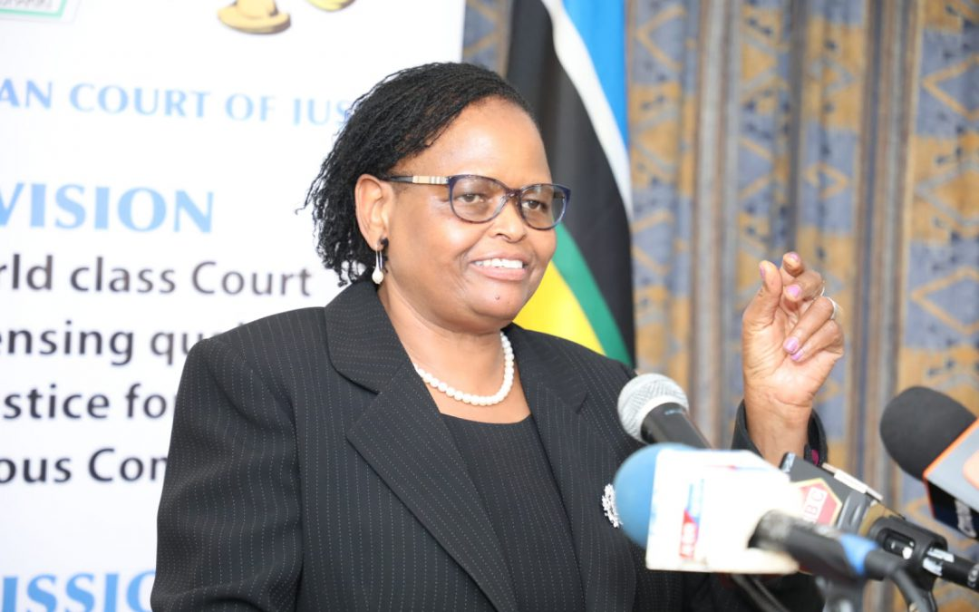 THE CHIEF JUSTICE OF KENYA AFFIRMS EACJ AS A PIVOTAL INSTITUTIONAL PILLAR AND CARRIER OF CROSS-BORDER CODES OF JUSTICE