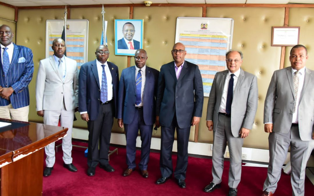 EACJ PRESIDENT PAYS A COURTESY CALL ON THE CHAIRPERSON OF THE EAC COUNCIL OF MINISTERS